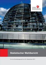 Vor der Bundestagswahl am 22. September 2013 - Statistik - Stadt ...
