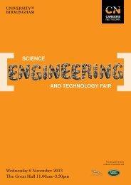 SET Fair guide 2013 (PDF - 4.47MB) - University of Birmingham