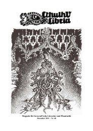 Magazin für lovecraft'sche Literatur und Phantastik - Luzifer Verlag