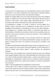 Pesce Azzurro - Bruno Pistoni