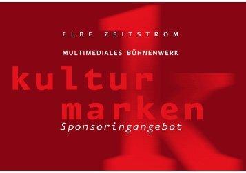 Sponsorenangebot Elbe-Projekt - Elbe-Zeitstrom