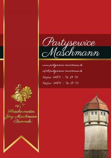 Partyservice Maschmann