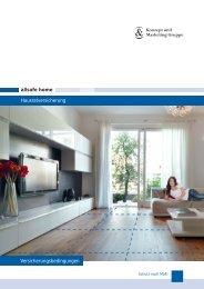 allsafe home Hausratversicherung Versicherungsbedingungen
