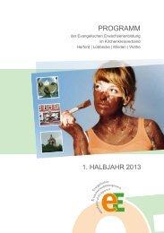 Programm für das 1. Halbjahr 2013 als PDF - Weiterbildung im Kreis ...