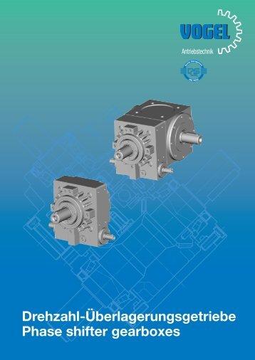 Drehzahl-Überlagerungsgetriebe Phase shifter ... - Base Industrial