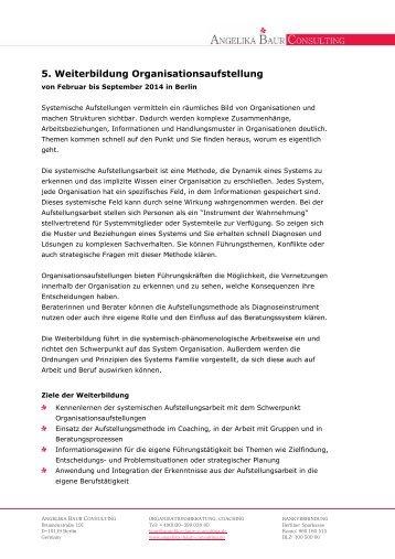 Weiterbildungsprogramm PDF - Angelika Baur Consulting