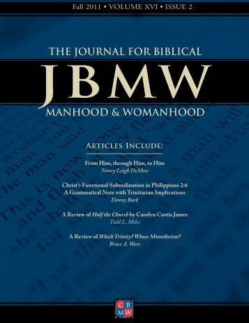 Download PDF - The Council on Biblical Manhood and Womanhood