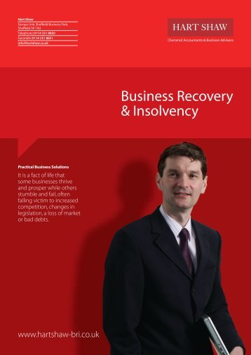 to download our Business Recovery & Insolvency ... - Hart Shaw