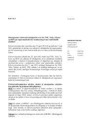 Bilag - Erhvervsstyrelsen