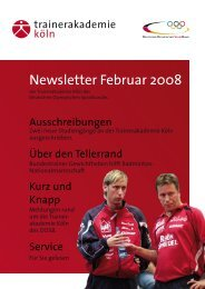 Newsletter Februar 2008 - Hockey Coach