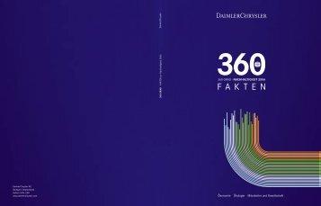 FAKTEN zur Nachhaltigkeit 2006 - Daimler Nachhaltigkeitsbericht ...