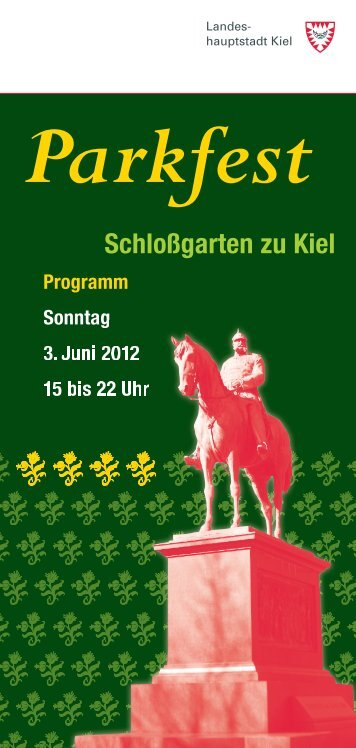 Schloßgarten zu Kiel