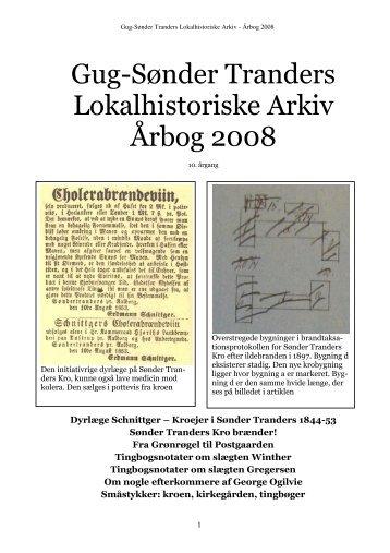 Gug-Sønder Tranders Lokalhistoriske Arkiv Årbog 2008