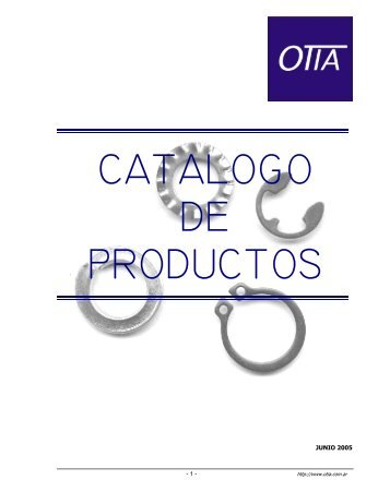 CATALOGO DE PRODUCTOS - otia