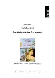 Die Geliebte des Sarazenen - Rowohlt Theaterverlag