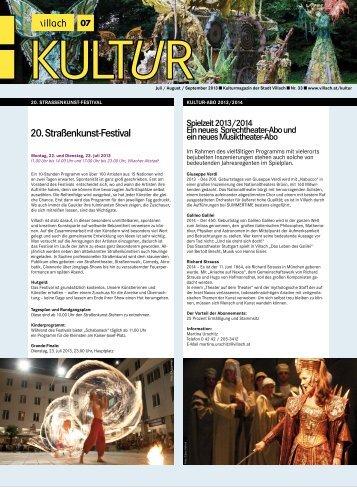 20. Straßenkunst-Festival - Villach
