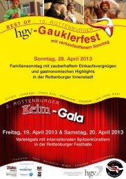 Das Programmheft des Gauklerfestes 2013 können Sie hier als PDF ...