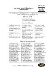 IJBCS - Editorial Board-February 2010