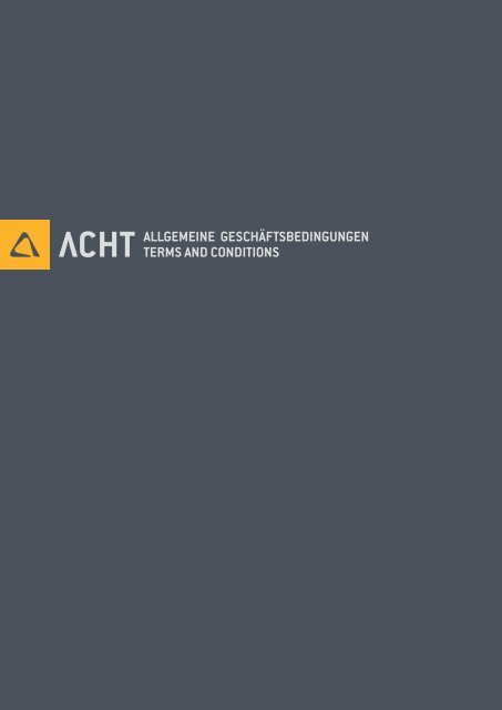 Untitled - ACHT