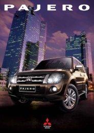 pajero-gen4-brochure - Mitsubishi Motors Malaysia