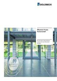 Öffentlich Private - Goldbeck GmbH