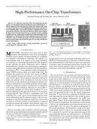 High-Performance On-Chip Transformers - UCLA Engineering
