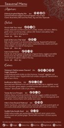 Seasonal Menu (.pdf 1.1MB) - Noorish