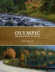 MEDIA KIT 2013 - Washington`s Olympic National Park & Forest