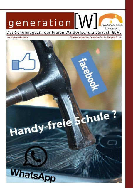 Handy-freie Schule ? - Freie Waldorfschule Lörrach