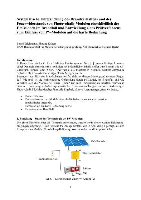 Teichmann, KrЃger _Systematische Brandverhalten und ...