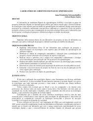 LABORATÓRIO DE AMBIENTES DIGITAIS DE ... - Rede DCC