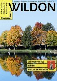 können Sie die Gemeindezeitung von November 2012 als ... - Wildon