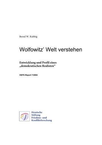 """Entwicklung und Profil eines """"demokratischen Realisten"""" - eDoc"""
