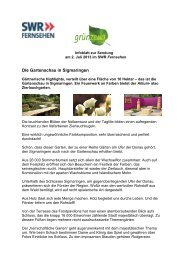02. Juli 2013 - Der Grünzeug-Garten - Gemüse ... - SWR Fernsehen