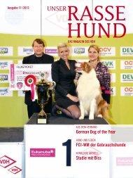 german Dog of the Year FCi-Wm der ... - Unser Rassehund