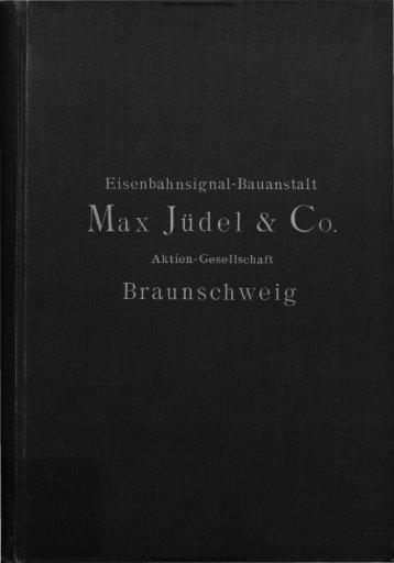 Max Jüdel & Co .. Akt:Ges. - Digitale Bibliothek Braunschweig