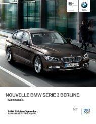 Nouvelle BMW Série 3 Berline