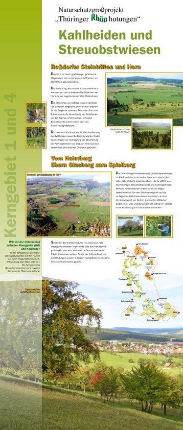 Wanderausstellung - Kerngebiete - Naturschutzgroßprojekt ...