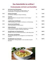 Salate - Traub