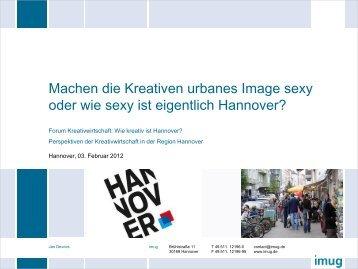 Machen die Kreativen urbanes Image sexy?