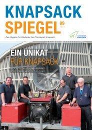 EIN UNIKAT FÜR KNAPSACK - Offener Chemiepark Knapsack