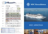 MSC ARMONIA - MSC Kreuzfahrten