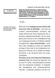 Rede anlässlich des Festaktes zur Einweihung ... - Freller, Karl (MdL)