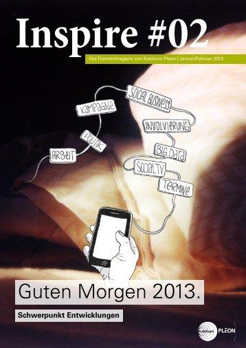 Inspire Magazin #01 Digital Challenges - Ketchum