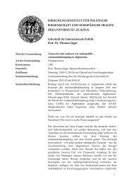 Aufstandsbekämpfung in Afghanistan - Lehrstuhl für Internationale ...