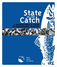 State of the Catch: A Professional's Guide to Sustainable Seafood