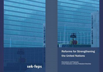 Reforms for Strengthening the United Nations