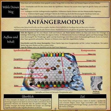 ANFäNGERMODUS - Ortusgame
