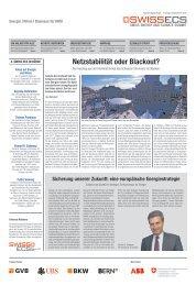SwissECS: Beilage NZZ - Wirtschaftsraum Bern