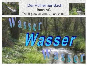 Der Pulheimer Bach - auf dem Erlebnispfad Pulheimer Bach